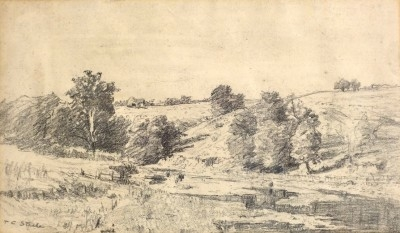 Hills of Brown County, Indiana, circa 1915