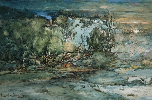 Frontier Cabin, 1894
