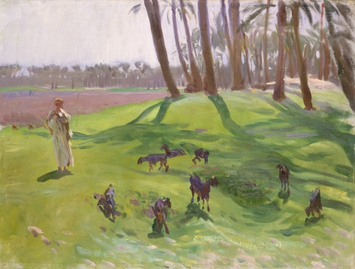Landscape with Goatherd, 1890–1891