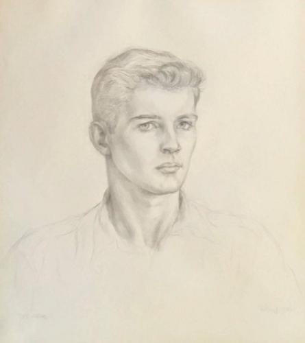 Portrait of Bill Miller, 1943