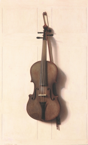 Violin and Bow, 1889
