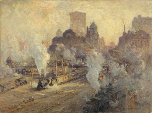 Grand Central Station, 1909