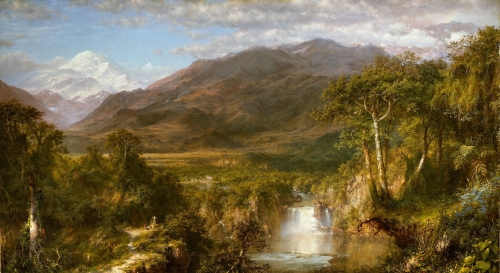 Heart of the Andes, 1859