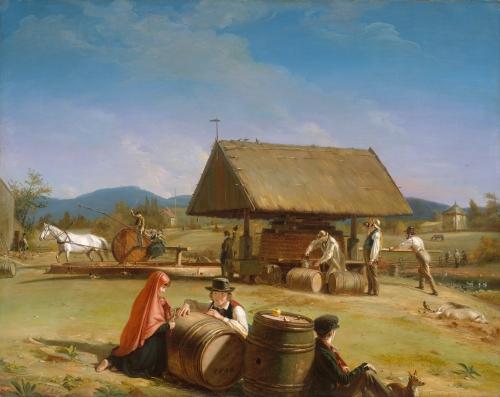 Cider Making, 1840–41