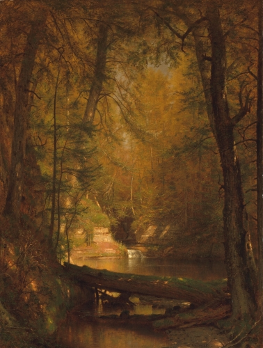 The Trout Pool, 1870