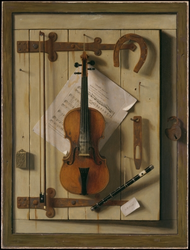 Still Life—Violin and Music, 1888