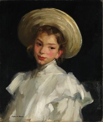 Dutch Girl in White, 1907