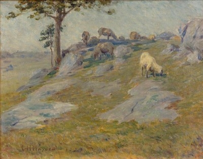 Landscape with Sheep, 1885