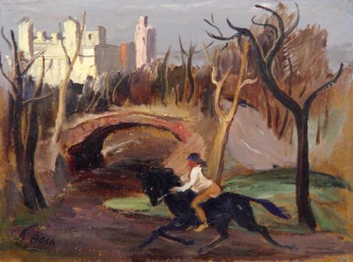 Rider, Central Park, circa 1950