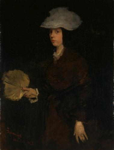 Lady with Fan, 1873
