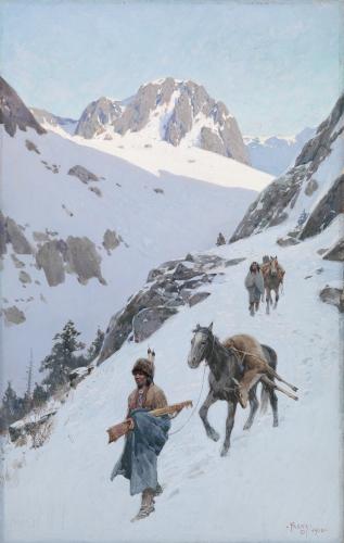 A Successful Hunt, 1906