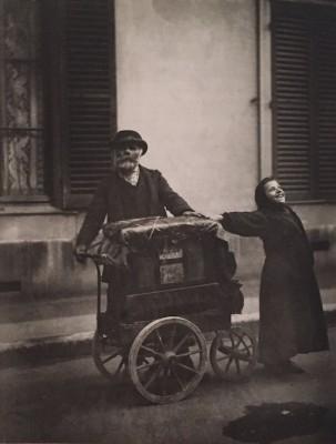 EUGÈNE ATGET The Organ Grinder Photograph 1898