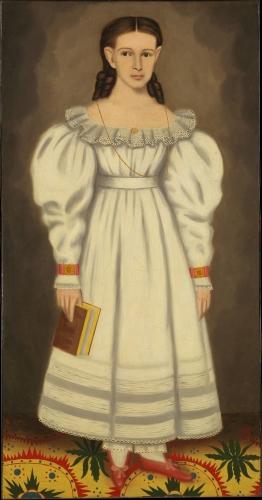 Girl of the Bangs, ca. 1848
