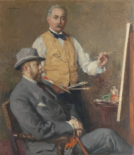 In the Studio (Gari Melchers and Hugo Reisinger), 1912