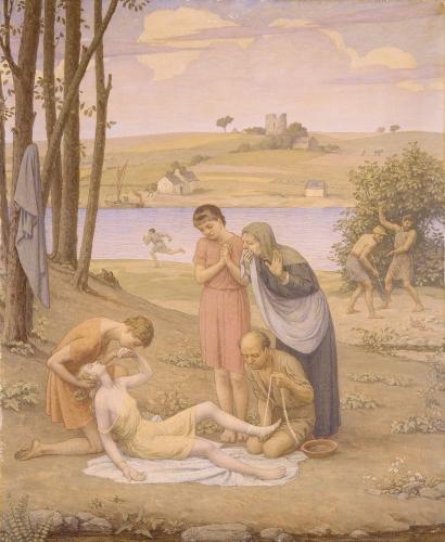 Eurydice Bitten by the Snake, 1930