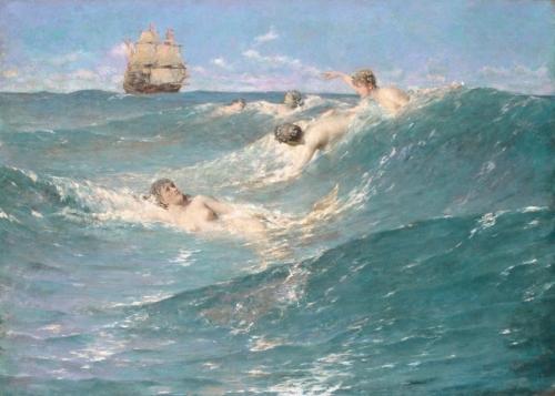 In Strange Seas, 1889