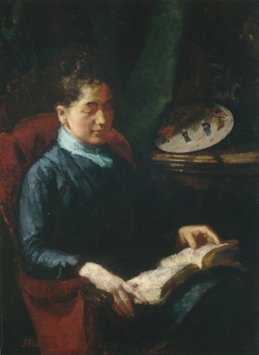 Woman Reading, 1879–84