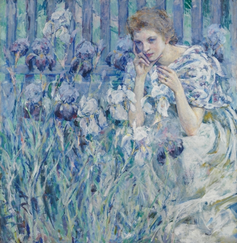 Fleur de Lis, ca. 1895–1900