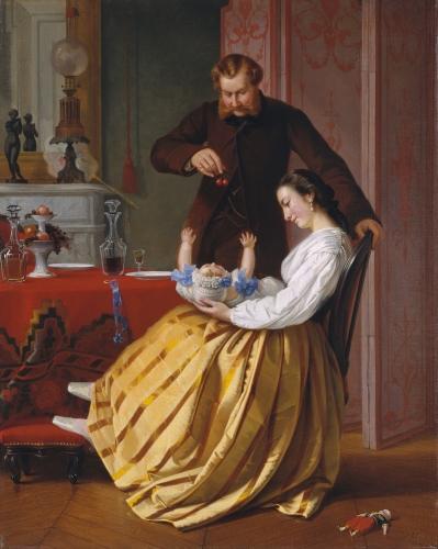Conversation Piece, ca. 1851–52