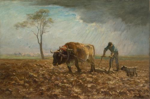 The Harrower, ca. 1890–95