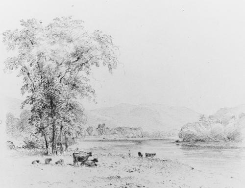 Susquehanna below Nanticoke, Pennsylvania, 1852