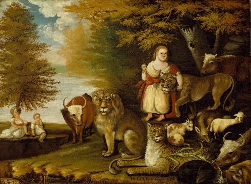 Peaceable Kingdom, ca. 1830–32