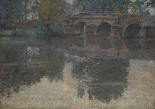 The Bridge at Grez, ca. 1907–11