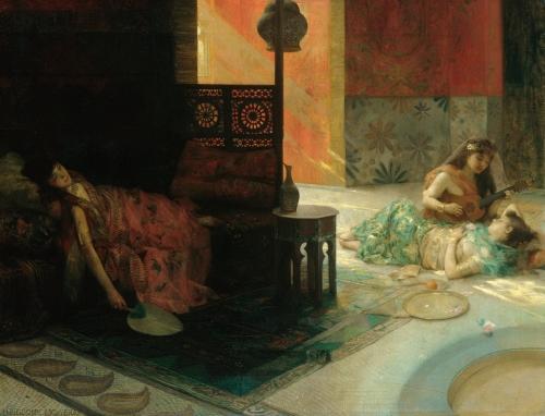 Harem Scene, ca. 1884–1900