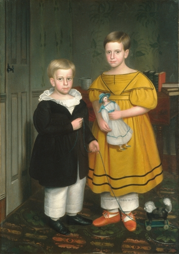 The Raymond Children, ca. 1838