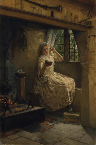 A Cosey Corner, 1884