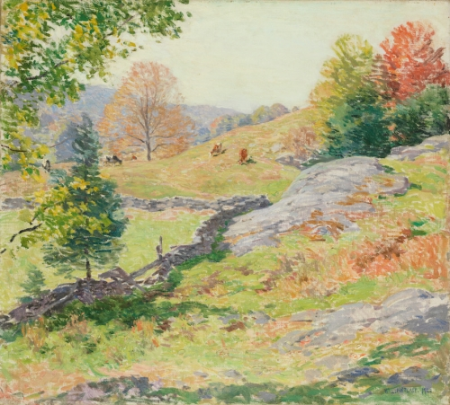 Hillside Pastures—September, 1922