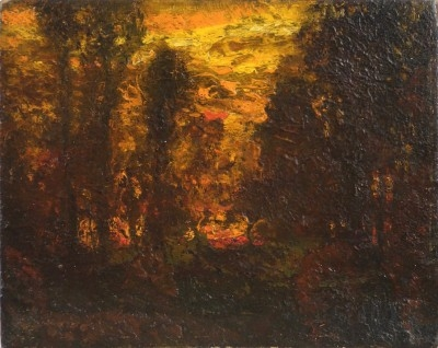 Sunset, circa 1900