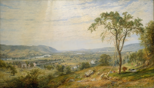 The Valley of Wyoming, 1865