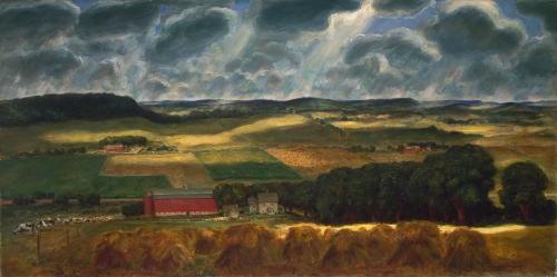Wisconsin Landscape, 1938–39