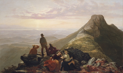The Belated Party on Mansfield Mountain, 1858