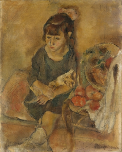 Girl with a Kitten, ca. 1926