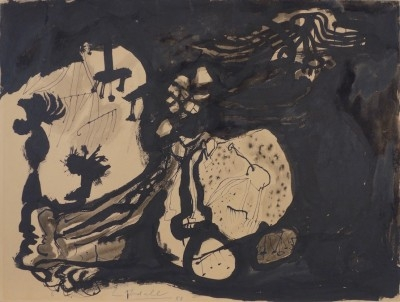 Untitled Abstract, 1958