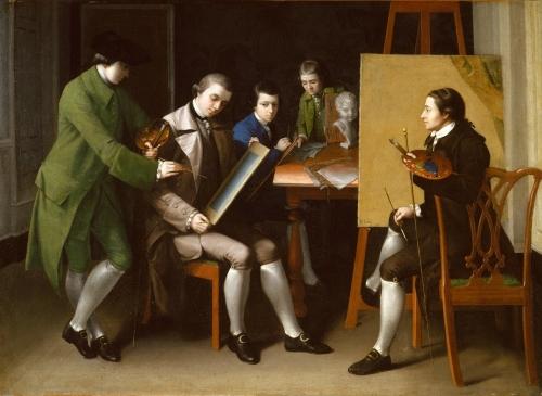 The American School, 1765