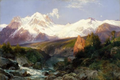 The Teton Range, 1897