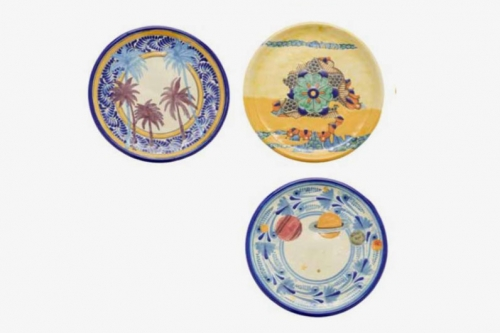 Talavera Ceramics Plates