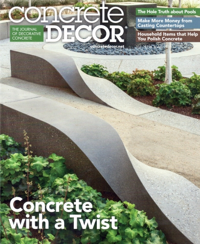 Concrete Décor: The Journal of Decorative Concrete