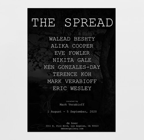 "KEN GONZALES-DAY INCLUDED IN ""THE SPREAD,"" CURATED BY MARK VERABIOFF"