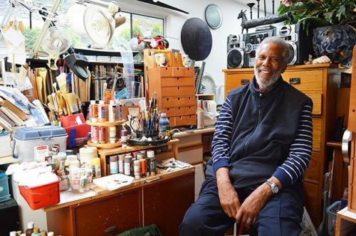 Jim Adams in his studio. Photo: Tom Zillich