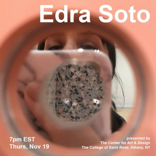 ARTIST TALK: EDRA SOTO SPEAKS WITH ART HISTORIAN, ROBERT R. SHANE