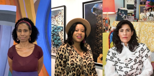 ARTIST TALK: JUNE EDMONDS, CARLA JAY HARRIS & KARLA DIAZ AT LUIS DE JESUS LOS ANGELES