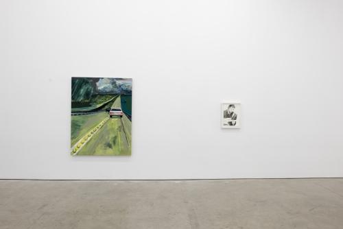 'Wild and Blue' by Celeste Dupuy-Spencer at Marlborough Contemporary, New York