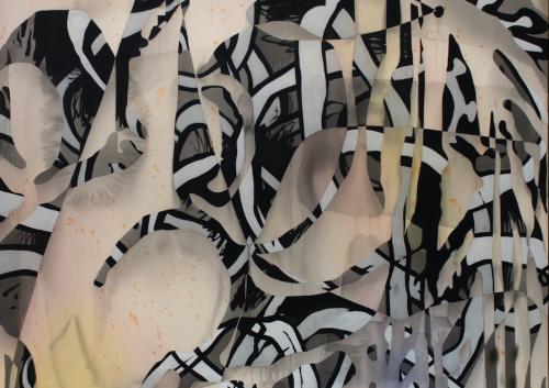Detail Shot of Jan-Ole Schiemann, Hexe, 2016.