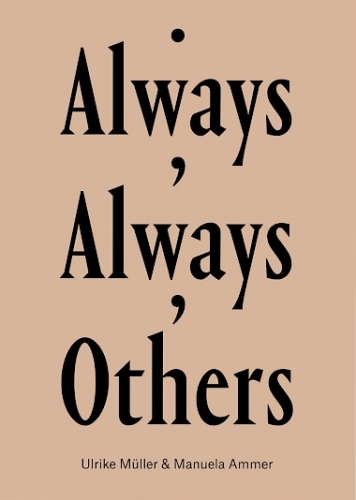 "The cover of ""Always, Always, Others,"" with the text in black upon a beige background"