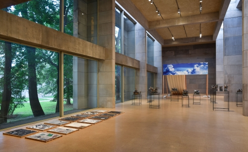 Kahlil Robert Irving's first major solo exhibition at Wesleyan University's Ezra and Cecile Zilkha Gallery in Middletown, CT, September 26th–December 9