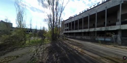A screenshot of Hoff's video in Chernobyl
